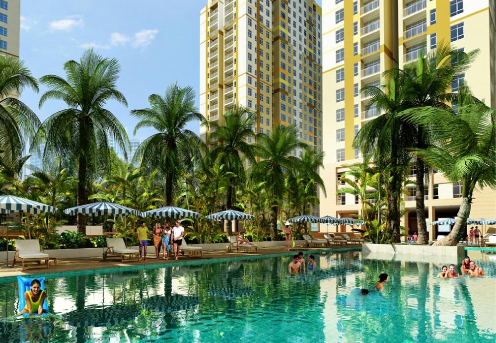 Hồ bơi căn hộ Tropic Garden