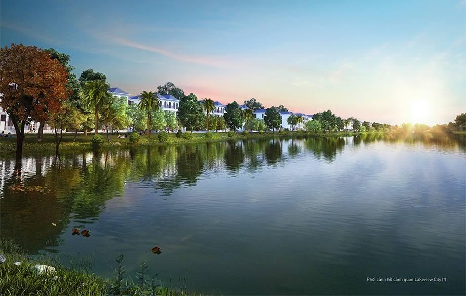 Hồ cảnh quan dự án Lakeview City