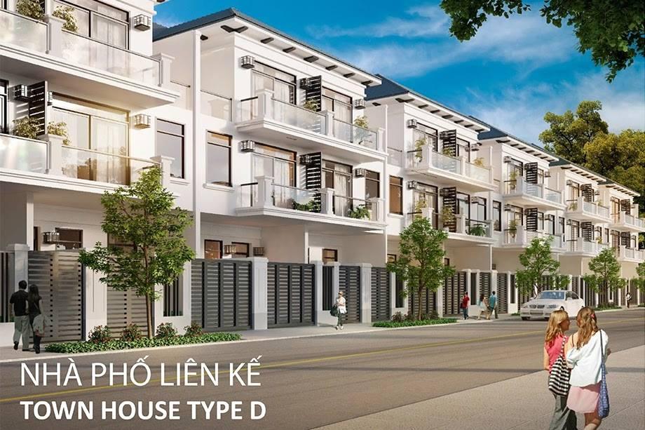 nhà phố liên kế dự án Lakeview City