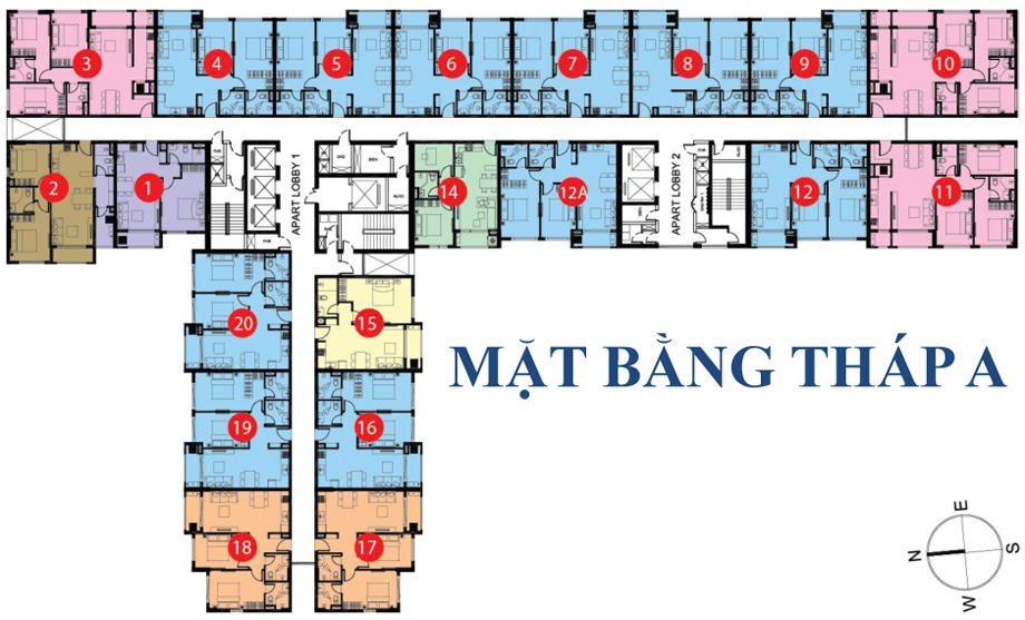mat bang block a botanica premier