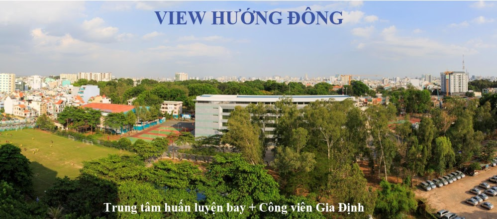 view huong Dong can ho botanica premier