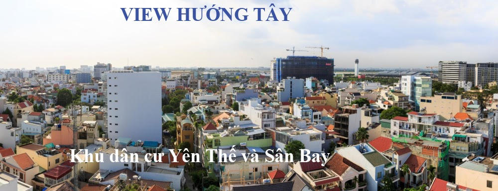 view huong Tay can ho botanica premier