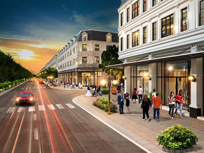 nhà phố thương mại lakeview city q2