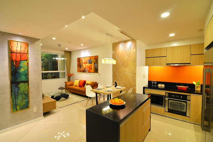 thiết kế căn hộ orchard parkview