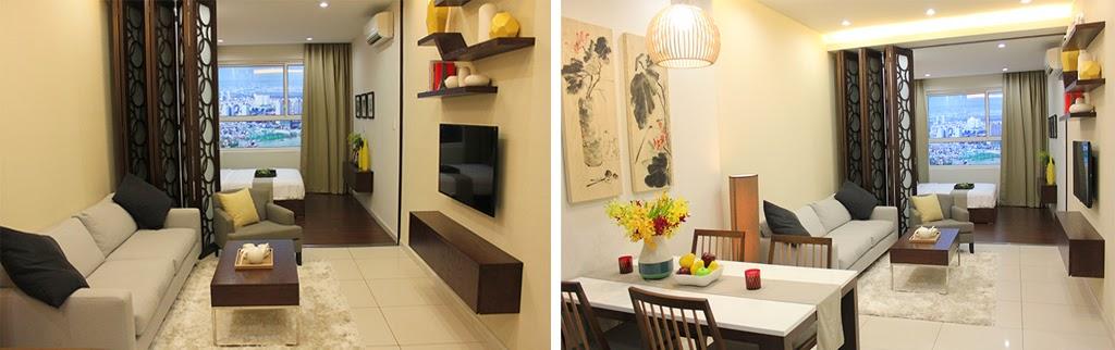 Thiết kế căn hộ Lexington 48.5m