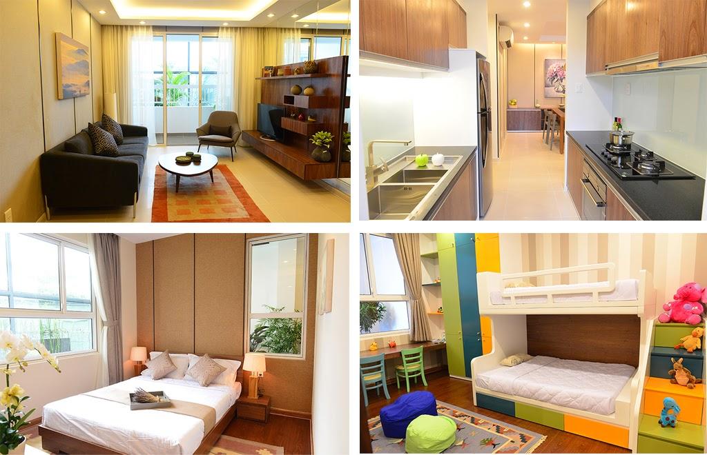 Thiết kế căn hộ Lexington 97m