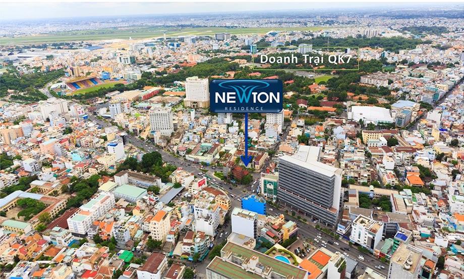 vị trí dự án newton