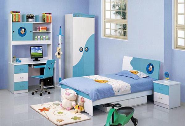 Màu xanh lá và xanh thẩm tốt cho phòng trẻ  - mau xanh la va xanh tham tot cho phong tre - Bài trí nhà hợp phong thủy cho người mệnh Mộc