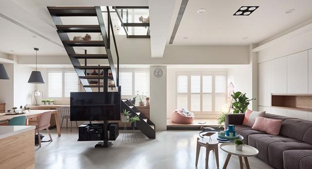 Ngôi nhà rộng 165 m2 sơn màu trắng tinh tế - Ảnh 3.  - 1544181030 42 Ng  i nh   r   ng 165 m2 s  n m  u tr   ng tinh t    - Ngôi nhà rộng 165 m2 sơn màu trắng tinh tế