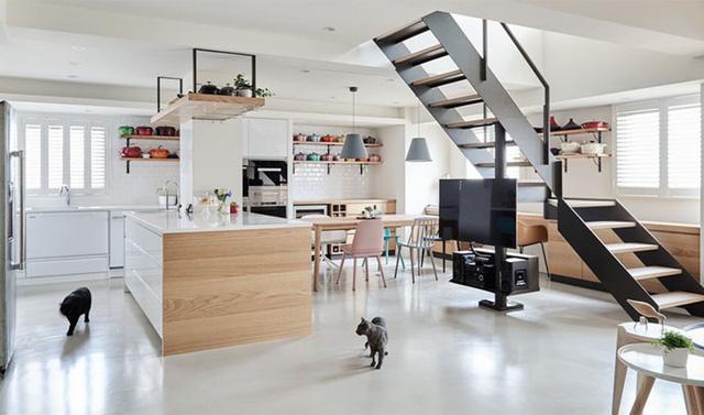 Ngôi nhà rộng 165 m2 sơn màu trắng tinh tế - Ảnh 1.  - Ng  i nh   r   ng 165 m2 s  n m  u tr   ng tinh t    - Ngôi nhà rộng 165 m2 sơn màu trắng tinh tế