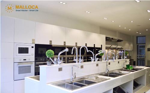 Các thiết bị nhà bếp Malloca mang tính đồng bộ cho không gian bếp.  - anh 2 3229 1544759886 - Khánh Vy House phân phối SP nhà bếp Malloca chất lượng