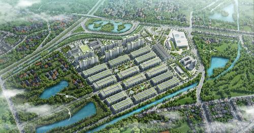 Him Lam Green Park phát triển theo quy hoạch khu đô thị hoàn chỉnh.  - 1052010956 w500 1555 154682679 2051 7362 1547272638 - Sức hút đầu tư của dự án Him Lam Inexperienced Park tại Bắc Ninh