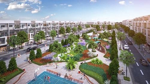 Nhà phố thương mại nằm trên các trục đường chính của dự án với công năng đa dạng.  - dgdfhgfhjhjghghj 9108 1547272638 - Sức hút đầu tư của dự án Him Lam Inexperienced Park tại Bắc Ninh