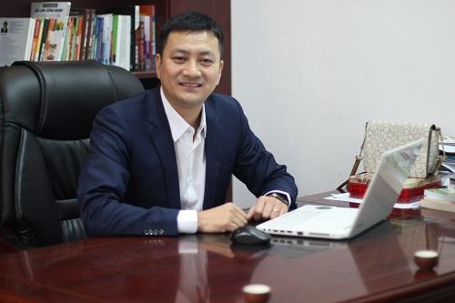 Ông Bùi Huy Hùng - Chủ tịch HĐQT Công ty Trà Sương Mai Thái Nguyên. Ảnh: Hà Trương.  - IMG 1177 JPG 2360 1549849672 - Cửa hàng tăng gần 30% đơn hàng nhờ chatbot