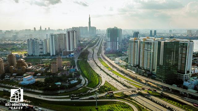 Cận cảnh những dự án giao thông đang làm thay đổi thị trường bất động sản TP.HCM - Ảnh 7.  - dji0206 15498504747381828857897 - Cận cảnh những dự án giao thông đang làm thay đổi thị trường BĐS thành phố.Hồ Chí Minh