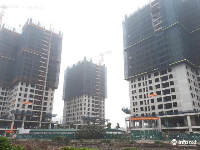 Hà Nội: Nhiều công trường dự án vẫn im lìm nghỉ Tết - Ảnh 1.  - photo 1 15500478921051283305141 - HN: Nhiều công trường dự án vẫn im lìm nghỉ Tết