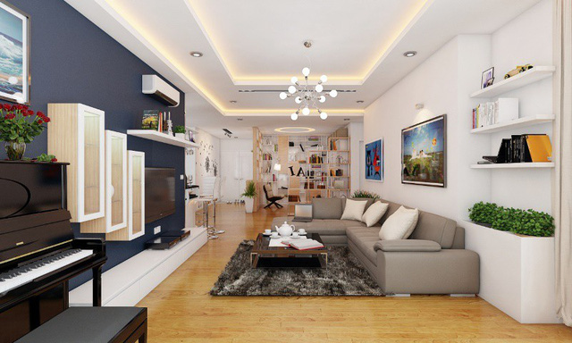 Xu hướng thiết kế nội thất chung cư năm 2019 - Ảnh 1.  - photo 1 15555764668572125482529 - Xu hướng thiết kế nội thất chung cư năm 2019