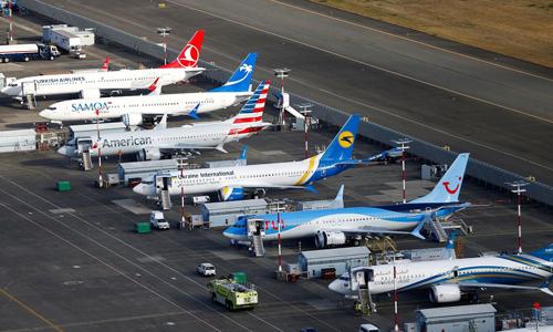 Các may bay 737 Max dừng hoạt động tại Seattle. Ảnh: Reuters  - 737500 1740 1560769205 - CEO Boeing hy vọng 737 Max bay lại trước cuối năm nay