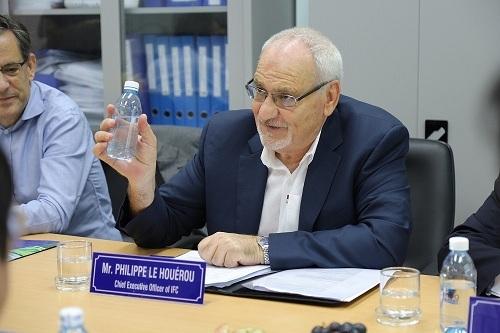 TGĐ IFC đánh giá cao kết quả hợp tác giữa DNP và IFC trong suốt thời gian qua  - 3 4317 1565865815 - DNP Water kỳ vọng IFC gia tăng hỗ trợ ngành nước VN