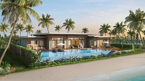 Phối cảnh ngoại thất dự án Mövenpick Resort Waverly Phú Quốc.  - Pic 2 5467 1573190524 - Cơ hội đầu tư, nghỉ dưỡng tại Mövenpick Resort Waverly P.Quốc