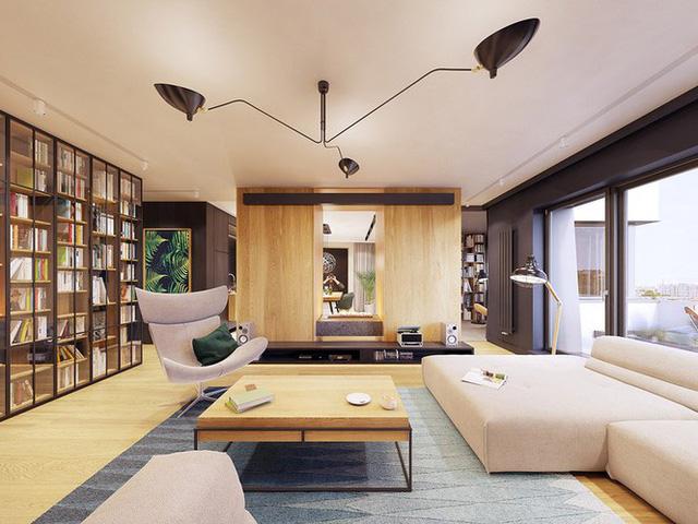 Chiêm ngưỡng căn hộ thiết kế ngẫu hứng đẹp cuốn hút - Ảnh 2.  - photo 1 15756900102861216821422 - Chiêm ngưỡng căn hộ thiết kế ngẫu hứng đẹp cuốn hút