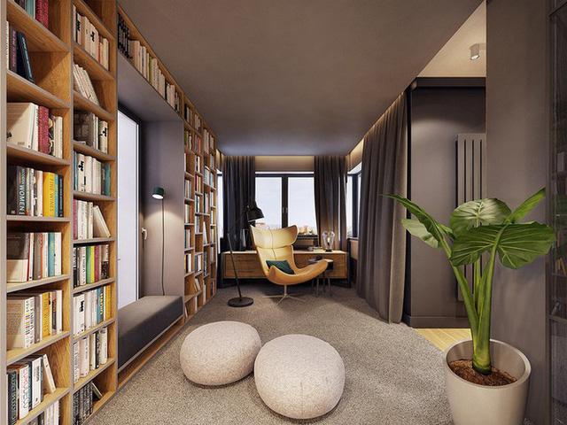 Chiêm ngưỡng căn hộ thiết kế ngẫu hứng đẹp cuốn hút - Ảnh 3.  - photo 2 15756900102911121749698 - Chiêm ngưỡng căn hộ thiết kế ngẫu hứng đẹp cuốn hút
