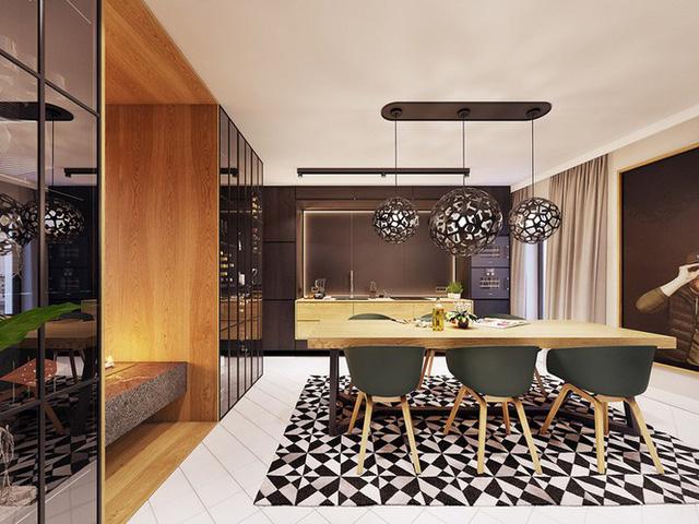 Chiêm ngưỡng căn hộ thiết kế ngẫu hứng đẹp cuốn hút - Ảnh 4.  - photo 3 15756900102931575967745 - Chiêm ngưỡng căn hộ thiết kế ngẫu hứng đẹp cuốn hút
