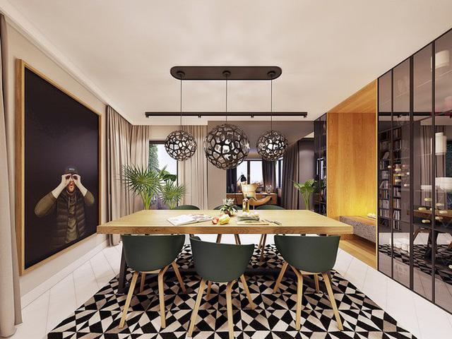 Chiêm ngưỡng căn hộ thiết kế ngẫu hứng đẹp cuốn hút - Ảnh 5.  - photo 4 1575690010294987606799 - Chiêm ngưỡng căn hộ thiết kế ngẫu hứng đẹp cuốn hút