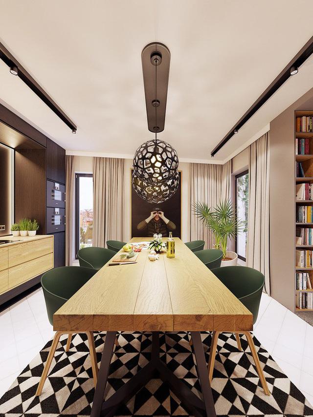Chiêm ngưỡng căn hộ thiết kế ngẫu hứng đẹp cuốn hút - Ảnh 6.  - photo 5 1575690010295127904073 - Chiêm ngưỡng căn hộ thiết kế ngẫu hứng đẹp cuốn hút