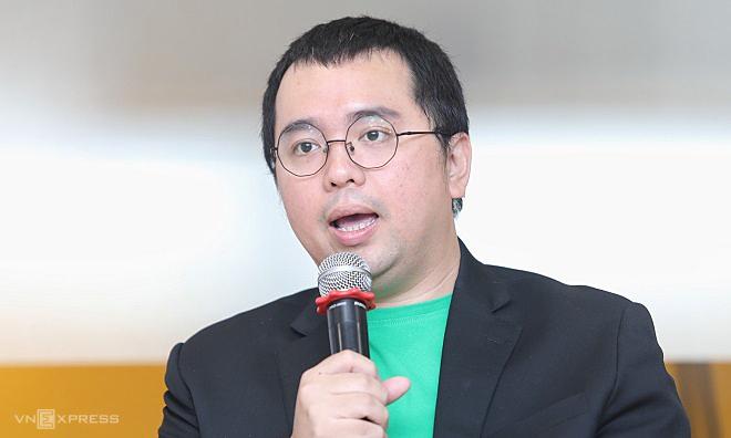 Ông Tuấn Anh xuất hiện tạisự kiện hồi tháng 9/2019 với vai trò CEO Grab Financial. Ảnh: Thành Nguyễn  - ceograb 1581686676 7029 1581686684 - Cựu sếp Grab làm CEO VinID