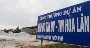 Cận cảnh khu đất khiến lãnh đạo Cty Thiên Phú bị bắt  - photo1585462702042 1585462703554 crop 15854627243302080184887 310x165 - Cận cảnh khu đất khiến lãnh đạo công ty Thiên Phú bị bắt