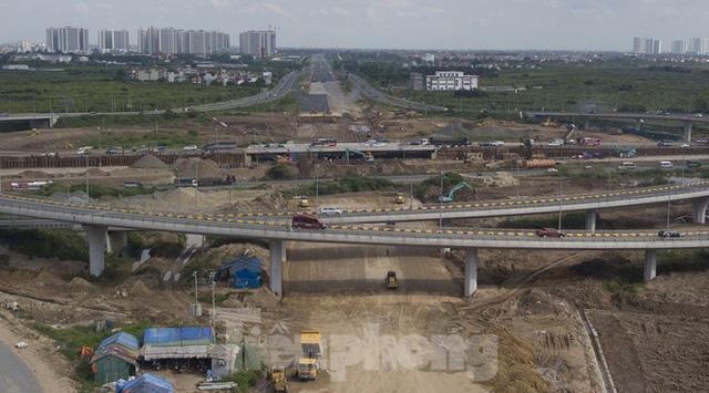 Toàn cảnh đại công trường 402 tỷ đồng nối vành đai 3 với cao tốc Hà Nội - Hải Phòng - Ảnh 3.  - photo 2 16001579054861943204072 - Toàn cảnh đại công trường 402 tỷ. đ nối vành đai 3 với cao tốc HN – Hải Phòng